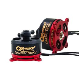 QX-MOTOR QA2207 2206 1500KV Motor sin escobillas para F3P RC Avión de ala fija Avión envío gratis desde fabricantes