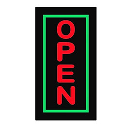 Wholesale Hair Salon Wall - Coffee BAR KEBAB NAIL SALON panel Led Open SIGN   Flashing epoxy Hair salon Neon Signs +On Off Switch for Business Shop Wall Window Display