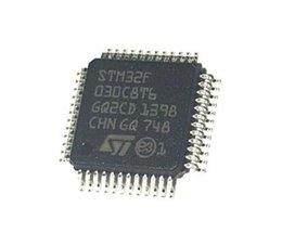 10PCS / LOT STM32F030 LQFP48 MCU 32 bits STM32F ARM Cortex M0 RISC 64 Ko Flash 2,5 V / 3,3 V 48 broches LQFP STM32F030C8T6 ? partir de fabricateur