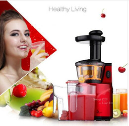 Wholesale Juicing Machines - Slow Juicer 250W Fruits Vegetables Low Speed Slowly Juice Extractor Juicers Fruit Drinking Machine For Home