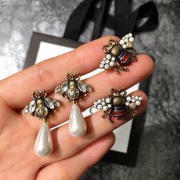 Pendiente para pareja online-Pendientes de cobre del último estilo Pendientes de oro viejo del diseño lindo para los pares de la moda Regalos de las mujeres