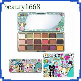Wholesale Lipstick Factory - 2018 factory price A Girl's Best Friend Eyeshadow 18 Colors Eye Shadow palete Cosmetics Matte vs lipstick set DHL