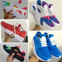 941caeb39eab 2019 huaraches arco iris Nuevo Air Huarache Running zapatos harache  Huaraches Rainbow Ultra Breathe Zapatos para