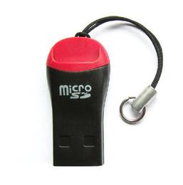 2019 lecteur de carte micro sd de 32 go USB TF Lecteur de Carte USB 2.0 Micro SD T-Flash Lecteur de Carte Mémoire Haute Vitesse Adaptateur pour 4gb 8gb 16gb 32gb 64gb 128gb promotion lecteur de carte micro sd de 32 go