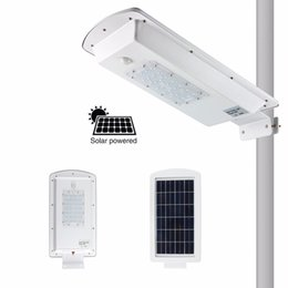 Wholesale Industrial Solar - Solar Lamp 10W 15W 20W 30W 50W LED Street Light Outdoor Wall Lamp Waterproof Spotlight Super Bright Solar Led Street Light