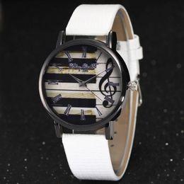 Wholesale Mens Watch Brands List - New listing Montre Homme 2017 Fashion Women's Watches Mens Watches Top Brand Luxury Quartz-Watch Band Piano Pattem Wrist Watch
