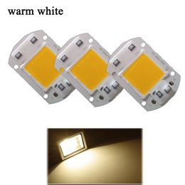 Wholesale Led Lighting Matrix - DIY 20W 30W 50W LED Lamp Integrated COB Chip Lamp AC 220V Matrix LED Spotlight For Flood Light Outdoor Light Street Lampada