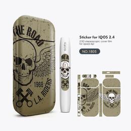 IQOS Autocollant Graffiti 2.5D Stéréo Film PVC Matériel Vape Couverture Autocollant Peau De Cigarette Électronique Pour IQOS Boîte Mods Vape Case ? partir de fabricateur