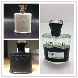 Wholesale Brand Men Perfume - Famous brand LADY Fashion sweety MAD & no five Aventus creed GREEN IRISH TWEED SA Creed sliver mountain  EDP BLUE water perfumes for men
