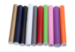 Wholesale vehicle window stickers - 127CM*10CM 3D Color Modification Film Car Interior Whole Vehicle Color Change Paste Carbon Fiber Color Change Sticker
