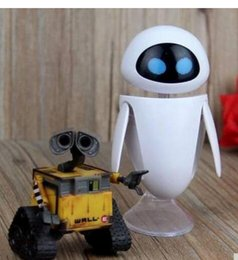 Wholesale Models Toys Hobbies - Toys Hobbies Action Toy Figures Wall-E Robot Wall E & EVE PVC Action Figure Collection Model Toys Dolls 6cm