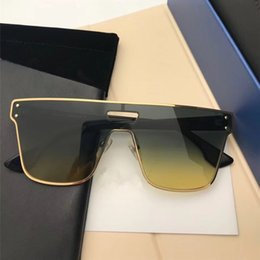 e556b5a1fe6 katzen augen gläser rahmen Rabatt New Luxury Sonnenbrille Golden Frame  Fashion Glasses Frankreich Designer Cat Eye