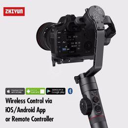 steadicam iphone Rebajas Zhiyun Crane 2 Zhi Yun Crane2 Estabilizador de cámara de 3 ejes Gimbal para todos los modelos de cámara DSLR Canon 5D2 / 5D3 / 5D4