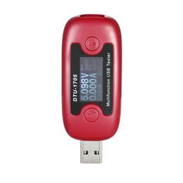 Wholesale multi tester digital - Digital Display Multi-functional USB Tester Voltage Current Power Meter Voltmeter Ammeter power bank meter