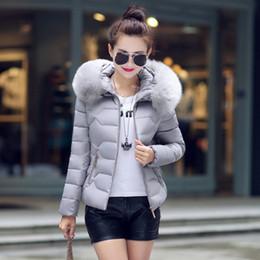 Manteau de cheveux lourd d'hiver en Ligne-Manteau en coton à capuche pour femme cultiver nouvelle 2018 hiver d'automne les cheveux lourds ont fait tomber les vestes courtes rembourrées en coton befree