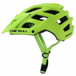 троллейбусы Скидка CAIRBULL 280G TRAIL XC регулируемый козырек дорожный велосипед шлем MTB Велоспорт велосипед шлем Горный Спорт в плесень