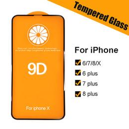 iphone flim avant Promotion x phonex 8 plus apple Pour téléphone iphone s6 i 7 plus Protecteur d'écran en verre trempé Full Coverage HD 9H Film de protection Glas