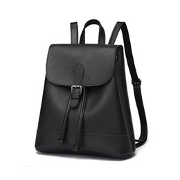 f80d803ae99b Vintage Backpack for Women Small Pu Leather School Bag for Teen Girls  Stylish Drawstring Backpack Female