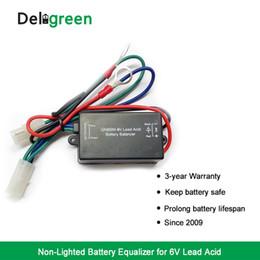 Bilanciamento batteria al piombo acido QNBBM 6V che mantiene la differenza di tensione delle batterie entro 10mV buona protezione nuovo mini BMS da cornici in alluminio fornitori