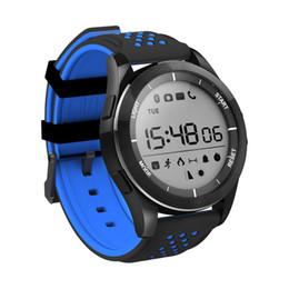recordatorio de pulsera Rebajas Nuevo Reloj Inteligente F3 Pulsera IP68 a prueba de agua Reloj inteligente Modo al Aire Libre Rastreador de Ejercicios Recordatorio Dispositivos Usables