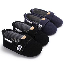 Wholesale Toddler Boy Loafer Shoes - Baby Boys Loafers Shoes Infant Toddler Fashion Kids Newborn Infant Toddler First Walkers Crib Spring Autumn Car Pattern Shoe