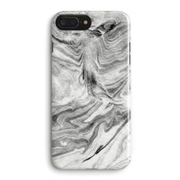 Simple negro con arena blanca forma patrón de mármol color púrpura caja del teléfono contraportada para Apple iPhone 6 6S 7 8 más X mate desde fabricantes