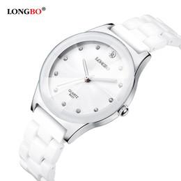 Resistente al agua de lujo fácil leer deportes mujeres reloj de pulsera de cerámica, envío gratis relojes de señora de calidad superior Y18102310 desde fabricantes