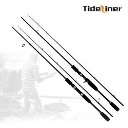 Вес рыболовных приманков онлайн-Tideliner 1.8 м спиннинг baitcasting рыболовные приманки литья удочка удочка вес приманки вес 10-30 г MH мощность с высоким содержанием углеродного волокна удочка