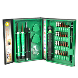 Kit di strumenti di riparazione auto online-Nuovo 38pcs precisione 38in1 cacciavite set kit di riparazione strumenti per cellulare cacciavite per PC cellulare set
