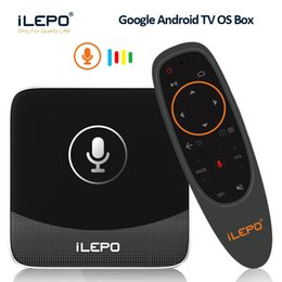 Argentina Inteligente Google Voice Control TV Box Amlogic S905W Quad Core Android 7.1 TV 2GB 16GB Google Moive gratis con 2.4G Control remoto IR por voz Suministro