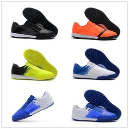 Discount tpu football - New Arrival Phantom Venom TF TPU Soccer Shoes for Top quality Football Boot Black White Blue Green Yellow Men Athletic Sneakers Size 39-45