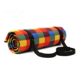 150 * 200 cm Manta de felpa al aire libre impermeable Picnic Mat para Picnicking Grass Traveling (Rainbow Grip) desde fabricantes