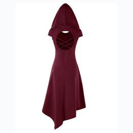 barato sexy noite vestidos Desconto Gótico medieval renascentista curto mulheres vestidos retro de volta escavar roupas festa vestidos europeus retro trajes de halloween