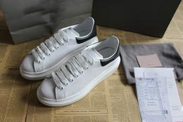 Argentina Moda marcas de lujo hombre zapatillas de deporte de diseño de calidad superior con cordones punta redonda cuero real diseñador de zapatos de mujer 35-46 zapatos casuales venta Suministro