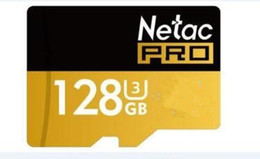 Wholesale 256gb Micro Sd Cards - 2018 Hot selling Netac 256GB 128Go Micro SD TF Memory Card Class 10 C10 Adapter Blister Package