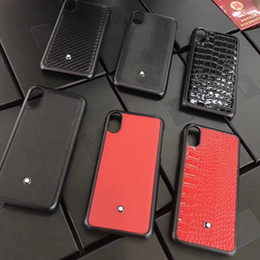 Wholesale mobile covers cases - Luxury branded Crocodile pattern leather mobile phone case for iphone X 6 6S 7 7plus PU + PC hard back cover for iphone 8 8plus