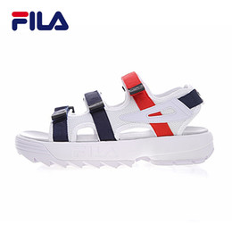 Wholesale red slippers open toe - 2018 new arrival II 2 men women Sandals black white red Anti-slipping Quick-drying Outdoor slippers Soft Water Shoes Beach Sandals