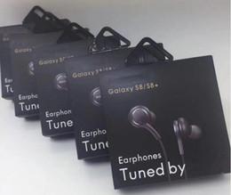 Cuffie auricolari In-Ear da 3.5mm Cuffie Auricolari Cuffie con microfono Controllo remoto del volume con pacchetto di vendita per Samsung Galaxy S8 Flas da microfono a cuffia con zip fornitori