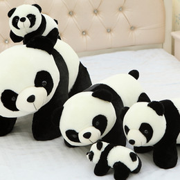 niedlicher anime-panda Rabatt 10 cm panda plüschtier kawaii nette kuscheltiere puppen kinder spielzeug 4 zoll juguetes dorimytrader riesigen teddybär kaws anime hallo kitty cartoon