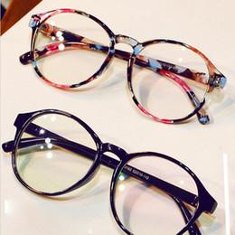 f796ae6823 Fashion Eyeglasses Frames Big Prescription Glass Frame Women Round Glasses  Frame Brand Myopia Optical Armacao De Oculos
