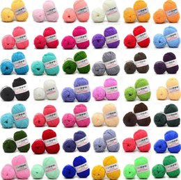 2019 ручной вязание крючком свитер 25g/ball Colorful 4# Combed Soft Baby Milk Cotton Yarn Fiber Velvet Yarn Hand Knitting Wool Crochet for DIY Sweater скидка ручной вязание крючком свитер