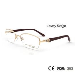 8e6b337024 Sorbern High Quality Women Metal Eyeglasses Frames Optical Diamond Luxury  Rshinestone Design Glasses Myopia Eyewear Oculos