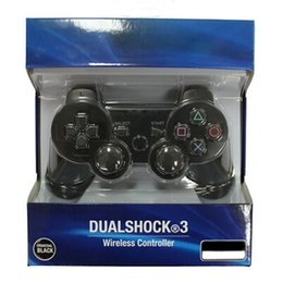 Wholesale Game Controller Joystick Pc - Wireless Bluetooth Game Controller Gaming PC Sixaxis Joystick Gamepad For PS3 With retail box DHL Free shipping