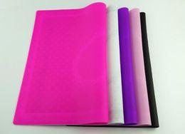 caixa de ferramentas de salão Desconto Nail Salon Hot Art Tips Prática Tabela Silicone Case Mat Pad Ponto de Lace Impressão Coloring polonês Gel UV lavável Ferramentas dobráveis Manicure