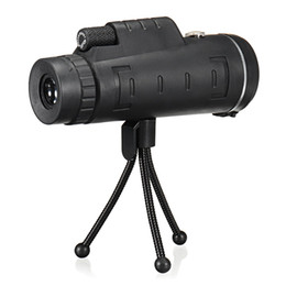 Lentes binoculares online-40x60 Monocular exterior monocular monocular HD para lente de cámara de teléfono celular Zoom Telescopio Telescopio de alcance Óptica lente binoculares