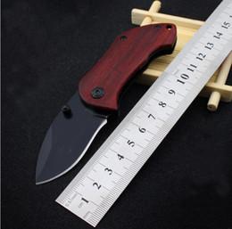 marque mini outil de plein air couteau pliant haute auto-chasse couteaux fruits manche en bois couteau randonnée ou équipement de camping ? partir de fabricateur