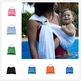 3fa090133252e 9colors Baby mesh water Sling 198x75cm infants summer dabble Breastfeeding  Sling playing with water wrap Carrier baby slings