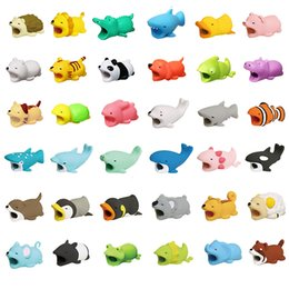 Canada Câble Hot BiteToy Câble Protecteur Animal Iphone Câble Bite Animal Poupée 2 * 2 * 4 cm Animal Iphone port Bite Data ligne protecteur jouets supplier cm iphone Offre