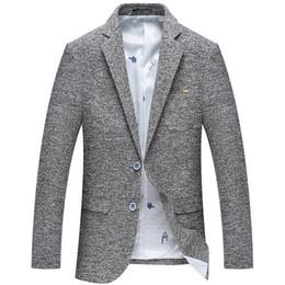 Etapa de desgaste para hombre New Spring Men Casual Blazer Chaqueta de traje de algodón para hombre Slim Fit Chaqueta clásica de hombre para hombre desde fabricantes