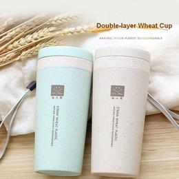 Canada Coupe étanche en verre de joint d'étanchéité en verre de protection de la paille de blé de double isolation de coupe créative Offre